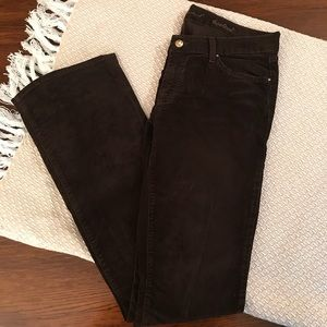 7 For All Mankind Brown Corduroy Jeans